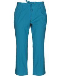 Romeo Gigli Cropped Pants - Blue