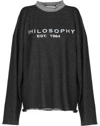 Philosophy Di Lorenzo Serafini - Sweatshirt - Lyst