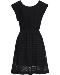 Sandro Knee-length Dress - Black