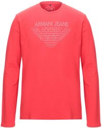 Armani Jeans T-shirt - Red