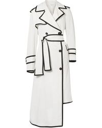 Thom Browne Overcoat - White