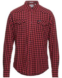 Wrangler Camisa - Rojo