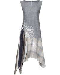 Pianurastudio Midi Dress - Blue