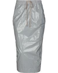 DRKSHDW by Rick Owens - 3/4 Length Skirt - Lyst