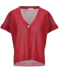 Gran Sasso Cardigan - Red