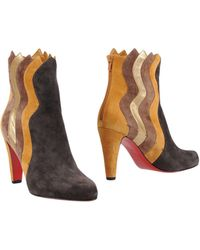 Christian Louboutin - Ankle Boots - Lyst