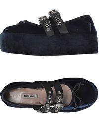 Miu Miu Zapatos de salón - Negro