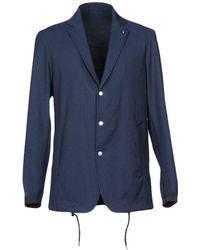 Covert Suit Jacket - Blue