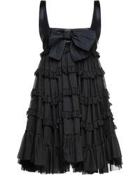 BROGNANO Short Dress - Black
