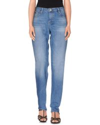 Karl Lagerfeld Denim Pants - Blue