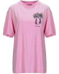 Palm Angels - Palm Tree Print T-shirt - Lyst