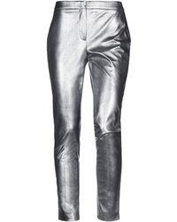 Slowear Pantalon - Métallisé
