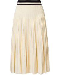 Tory Burch 3/4 Length Skirt - White