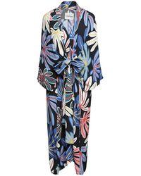 Ottod'Ame 3/4 Length Dress - Blue