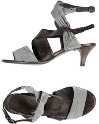 Henry Beguelin Sandals - Gray