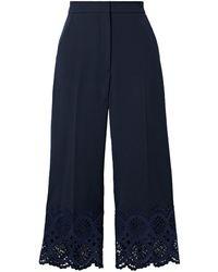 Lela Rose Trouser - Blue