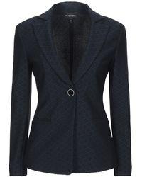 Emporio Armani Suit Jacket - Blue