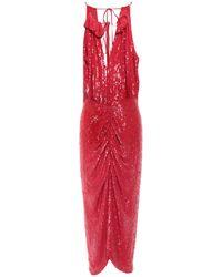Magda Butrym Long Dress - Red