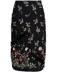 Marques'Almeida 3/4 Length Skirt - Black