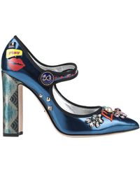 Dolce & Gabbana Pumps - Blau