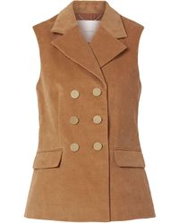 Adam Lippes Suit Jacket - Brown
