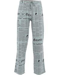 John Galliano Pijama - Gris