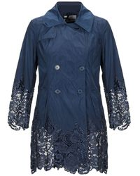 No Secrets Overcoat - Blue