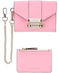 MICHAEL Michael Kors Brieftasche - Pink