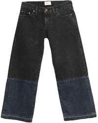 Simon Miller Denim Trousers - Black