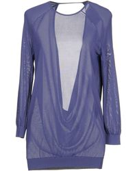 Halston Jumper - Purple