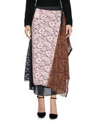 Antonio Marras 3/4 Length Skirt - Pink