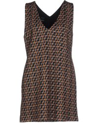 Pinko - Short Dress - Lyst
