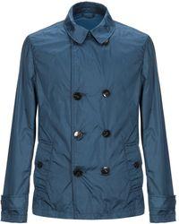 Brooksfield Overcoat - Blue