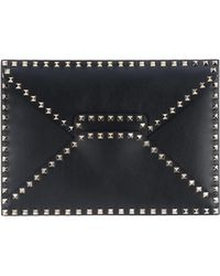 Valentino Document Holder - Black