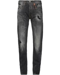 HTC Denim Trousers - Black
