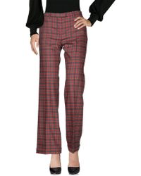 BELFE Casual Trousers - Red