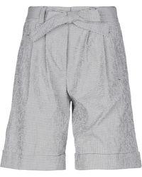 Peserico Bermudashorts - Grau