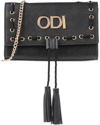 Odi Et Amo Cross-body Bag - Black
