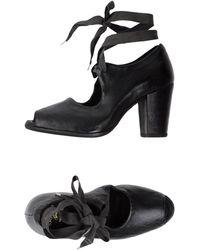 Sartori Gold Lace-up Shoe - Black