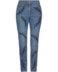 Moschino Denim Trousers - Blue