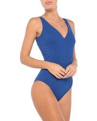 La Petite Robe Di Chiara Boni One-piece Swimsuit - Blue