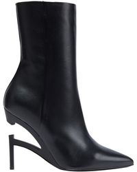 Unravel Project Ankle Boots - Black