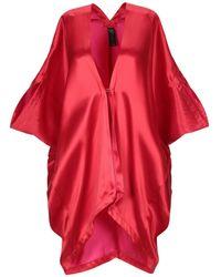 Zero + Maria Cornejo Overcoat - Red