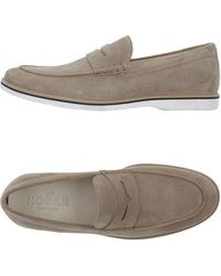 Hogan Loafers - Natural
