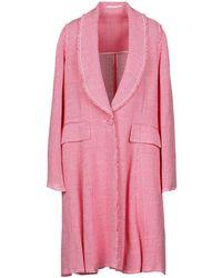 Golden Goose Deluxe Brand Overcoat - Pink