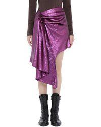Halpern Mini Skirt - Purple