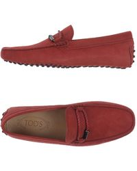 Tod's Mocassins - Rouge