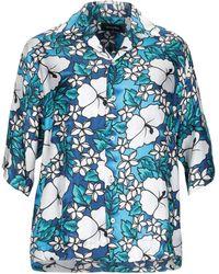 DSquared² Camicia 'Hawaiian' - Blu