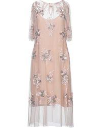 Anna Rachele Midi Dress - Pink