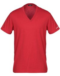DSquared² T-shirt intima - Rosso
